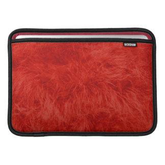 赤い羽 MacBook スリーブ