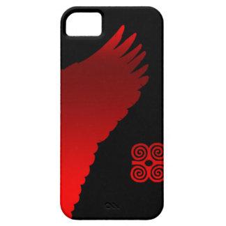 赤い翼 iPhone SE/5/5s ケース