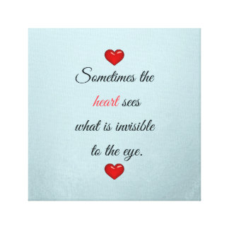 赤い聖者のバレンタインデー キャンバスプリント