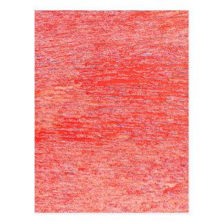 赤い背景 ポストカード