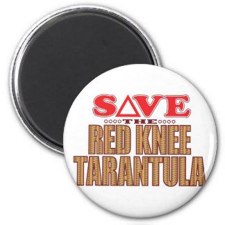 赤い膝のタランチュラの保存 マグネット