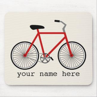 赤い自転車のマウスパッド マウスパッド