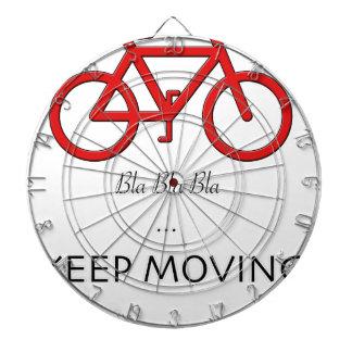 赤い自転車の引用文 ダーツボード