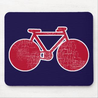 赤い自転車 マウスパッド