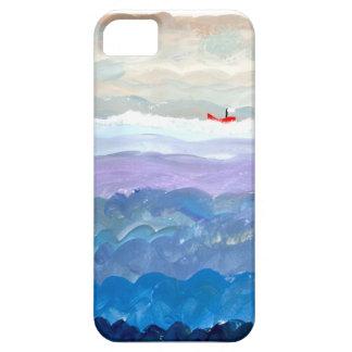 赤い船 iPhone SE/5/5s ケース