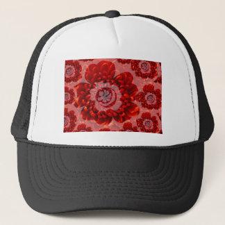 赤い花の旅行-ファンタジーの崇拝の世界 キャップ