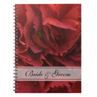 赤い花の結婚式 ノートブック