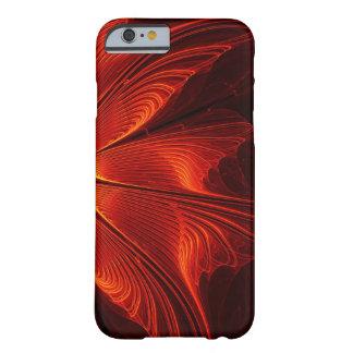 赤い花の花弁の妖精の鞘ばね BARELY THERE iPhone 6 ケース