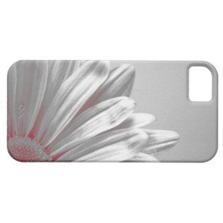 赤い花柄のハイライトのiPhone 5の穹窖 iPhone SE/5/5s ケース