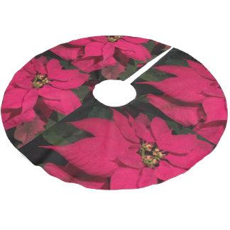 赤い花2016年 ブラッシュドポリエステルツリースカート
