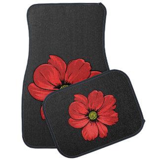 赤い花 カーマット