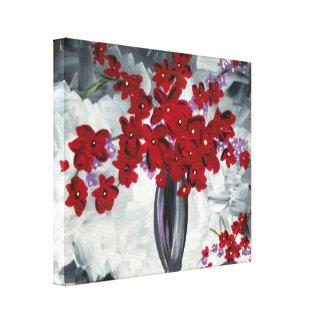 赤い花 キャンバスプリント