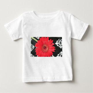 赤い花 ベビーTシャツ