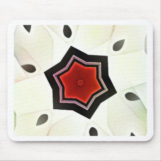 赤い花-日本スタイル マウスパッド
