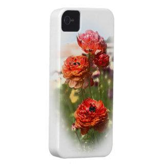 赤い花 Case-Mate iPhone 4 ケース