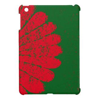 赤い花 iPad MINI カバー