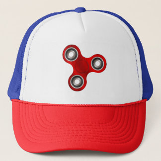 赤い落着きのなさの紡績工のおもしろいのトラック運転手の帽子の帽子 キャップ