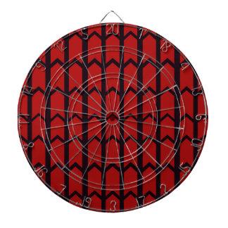 赤い蜘蛛の巣 ダーツボード