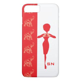 赤い象 iPhone 8 PLUS/7 PLUSケース