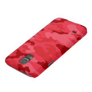 赤い迷彩柄の穹窖のSamsungの銀河系の関連の箱 Galaxy S5 ケース