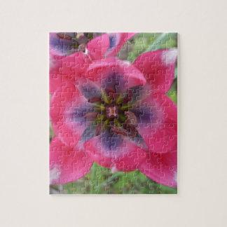 赤い道化師の花のジグソーパズル ジグソーパズル