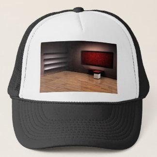 赤い部屋のデザイン キャップ