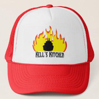 赤い野球帽 キャップ