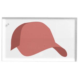 赤い野球帽 テーブルカードホルダー