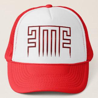 赤い金属EMEのロゴの帽子 キャップ