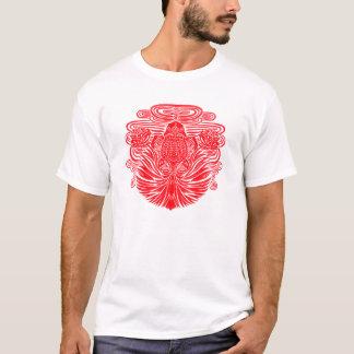 赤い金魚 Tシャツ