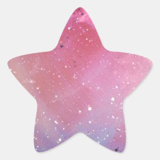 赤い銀河系 星シール