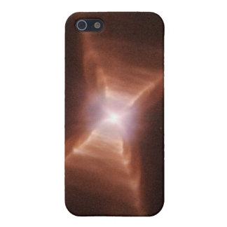 赤い長方形の星雲HD 44179 iPhone 5 COVER