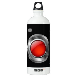 赤い開きが付いているデジタルカメラ ウォーターボトル