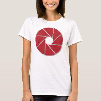 赤い開きの刃 Tシャツ