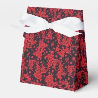 赤い開花の好意箱(テント) フェイバーボックス
