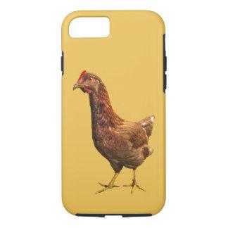 赤い雌鶏の鶏のiPhone 7の箱 iPhone 8/7ケース