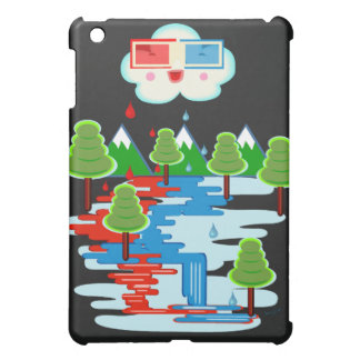赤い雨 iPad MINIケース