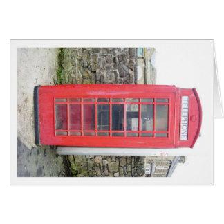 赤い電話箱 カード