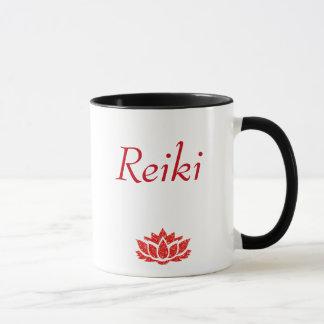 赤い霊気の主義のスタイル マグカップ
