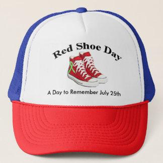 赤い靴日、Lymeの認識度の帽子 キャップ