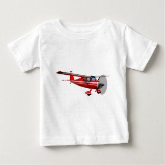 赤い飛行機 ベビーTシャツ