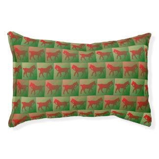 赤い馬パターン