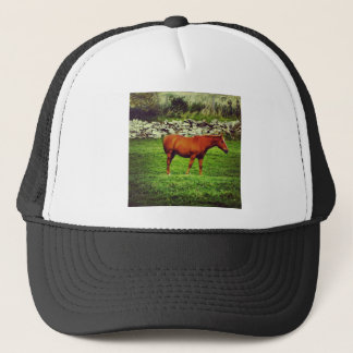 赤い馬 キャップ