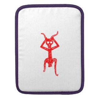 赤い骨組人 iPadスリーブ