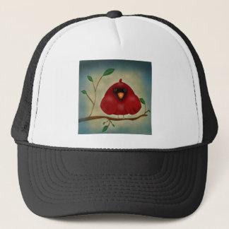 赤い鳥の(鳥)ショウジョウコウカンチョウ キャップ