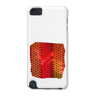 赤い黄色の抽象芸術階段切り出しの写真 iPod TOUCH 5G ケース