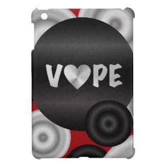 赤い黒3D Vape iPad Mini カバー