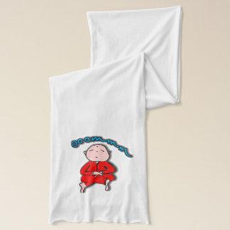 赤い黙想のOmの男の子 スカーフ