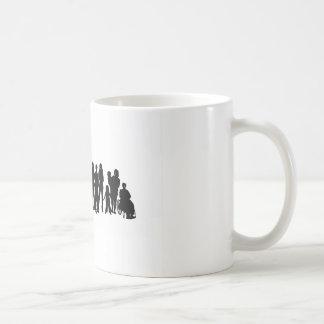 赤い鼻日のデザイン コーヒーマグカップ