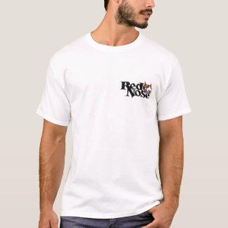 赤い鼻日のピットブルのTシャツ Tシャツ